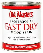 Old Masters Professional Fast Dry Wood Stain - 1 Gallon!