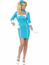 Ladies Air Hostess with the Mostess fancy dress costume dressing up outfit set