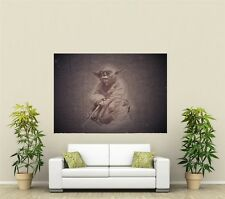 Star Wars Vintage Yoda Giant 1 Piece  Wall Art Poster TVF122