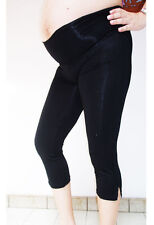 Maternity Leggings CROP Maternity 3/4 Pants Maternity Clothing NEW Pregnancy