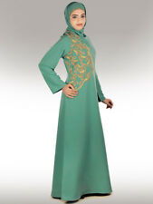 Buy Abaya, Jilbab, Burka, Maxi, Islamic Hijab Clothing Ethnic Muslim Dress AY226