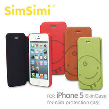 SimSimi Flip Case Cover for iPhone 5
