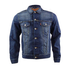 Brand New Childrens Levis Trucker Indigo Denim Jacket