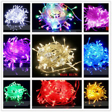 Multi color 10/20/30/50/100M Party Christma  Fairy String LED Lights 4004
