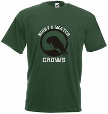 Night's Watch Crows T Shirt - Funny t-shirt game retro sports thrones tv cool