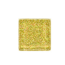 1/2 LB GOLD RAINBOW GLITTER CRYSTAL TILES