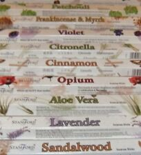 Stamford Incense Sticks - Many Scents - Buy 3 Get 1 Free