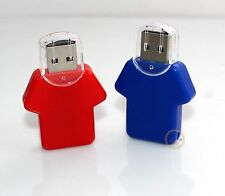 Genuine GB GIGA Memory Flash USB Drive Plastic Thumb Stick T-Shirt Style