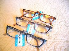 """MEN OR LADIES """"EXTRA STRENGTH"""" READING GLASSES/MAGNIFIERS (4.00-7.00) HALF MOON"""