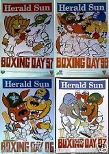 WEG ACB Boxing Day Test Cricket Posters 1997 1998 2006 2007 India England Africa