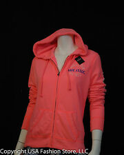 NWT Hollister by Abercrombie Women's Hoodies Costa Mesa Coral