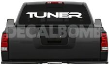 TUNER windshield decal / sticker import race * choose color & size