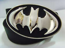 New Fashion Western COOL 3D Superhero Batman Mens Leather Metal Belt Buckle Gift