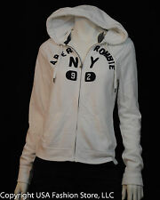 Abercrombie & Fitch Women's Hoodies Jenny White NWT