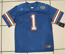 Nike Boys Youth Florida Gators Blue Football Jersey #1 MSRP $46 NWT
