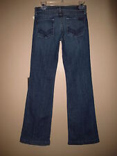 Seven 7 For All Mankind Dojo Flare Wide Leg Trousers Jeans Vintage Dark 25 XS