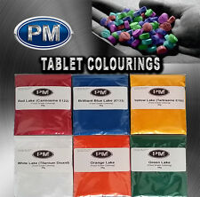 FOOD GRADE TABLET COLORINGS FOR TDP AND MANUAL PILL PRESS