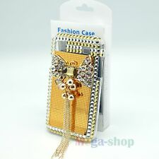 WHOLESALE 3D RHINESTONE CRYSTAL HEART BLING CASE COVER FOR SAMSUNG GALAXY i9000