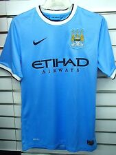 BNWT MANCHESTER CITY HOME 2013/2014 FOOTBALL SOCCER JERSEY TRIKOT CAMISETA
