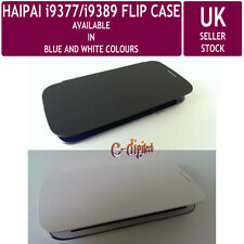 FLIP CASE for HAIPAI i9389 and i9377 SmartPhones - Two Colours - UK Stock