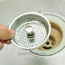 Kitchen Basin Laundry Vegetable Sink Stopper Strainer Drain Garbage Disposal