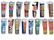 151 CARTRIDGES WOOD/ROOF/FRAME/BATHROOM SEALANTS/FILLERS/ADHESIVES/SILICONE