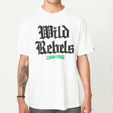 New Mighty Healthy Rebel T-Shirt - White - Small