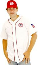 Mens Movie AAGPBL A League Of Their Own Rockford Peaches Deluxe Baseball Costume