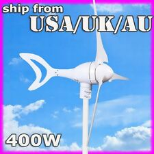 400W WIND TURBINE GENERATOR STALL PROTECTION VOLT OPTION VERSATILE TURBINE