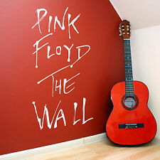 PINK FLOYD THE WALL WALL ART ROOM STICKER VINYL DECAL MUSIC ALBUM THE WALL