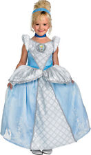 Girls Disney Storybook Cinderella Prestige Toddler / Child Costume -3-4T,S,M