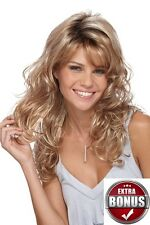 Becky Wig by Estetica Designs Classique Long Tousled Curl Free Hair Care Kit