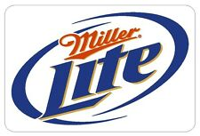 Miller Lite Beer Vinyl Decal Sticker MADE IN THE USA Collectible R215