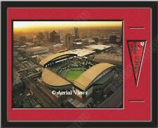 MLB Teams Aerial View Large Stadium Poster Framed W/ Matting-Choose Team