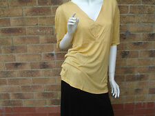 "MARKS AND SPENCER ""AUTOGRAPH RANGE"" WOMENS TOP UK SIZE 8-16 100% VISCOSE RRP £20"