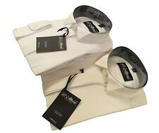 "Cotton Rich Boys White or Ivory Wing Collar Wedding Pageboy Shirt 10""-14"" BNWT"