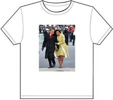 BARACK AND MICHELLE OBAMA T-SHIRT TEE PICTURE PHOTO first lady president love 62
