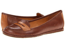Naturalizer NAYA Women's DEBBIE Size 7.5 Wide Shoes COFFEE/BRNDY Leather L2202