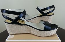MICHAEL KORS Jalita Charm Sandals in Black Sizes 7.5/9.5
