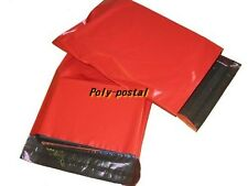 RED Postal Postage Mailing Poly Bags 12x16 10 20 50 100 plastic 200 post 500