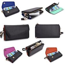 New Lady Clutch Wallet Flip Case with Hand straps for Nokia Lumia 1025, 925