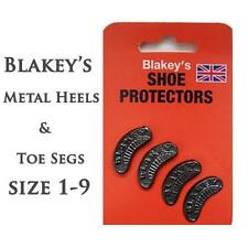 Blakey's Metal Heel and Toe Segs Size 1-8