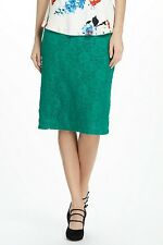 NWT/NIP Anthropologie Alva Lace Pencil Skirt by Maeve Green S, M, L