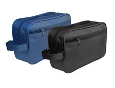 DEEP BLUE MEN TOILETRY BAG - WASH BAG - TRAVEL BAG - OVERNIGHT BAG -GROOMING BAG