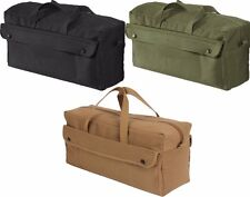 Military Heavy Weight Cotton Canvas Mechanics Jumbo Tool Bag Rothco 8145