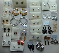 New Earrings - 1 pair - various colours to choose from - list e