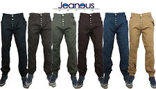 Mens Zico Stretch Cuffed Chinos Joggers Jogger Jeans  Waist 42 44 46 48