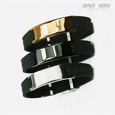 ONE ION Energy Taichi POWER Wristband Ion Balance Bracelet Band
