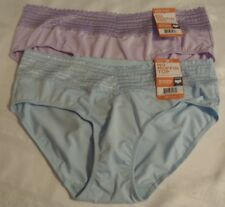 WARNERS Size S M L or XL Nylon Hipster Panty Choice NWT 5609J