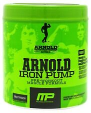 NEW Arnold IRON PUMP Muscle Pharm 30 servings CHOOSE YOUR FLAVOR  ARNOLD SERIES
